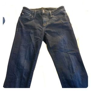 Joes the icon mid rise skinny jeans size 24